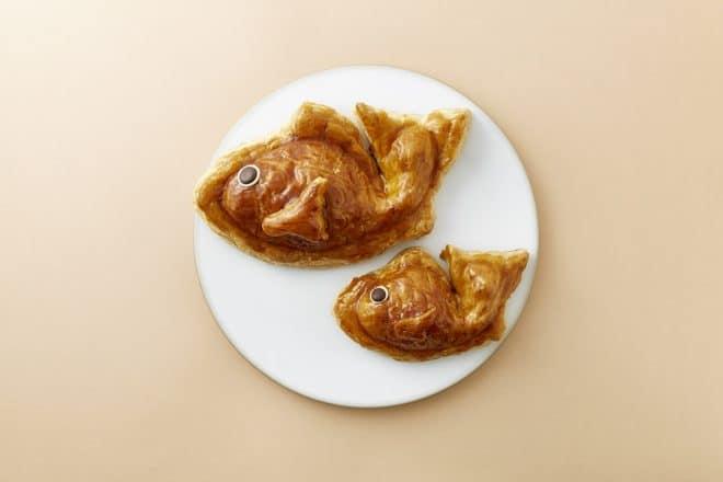 めで「鯛パイ」をはじめました